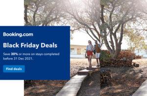 Booking.com Black Friday deals