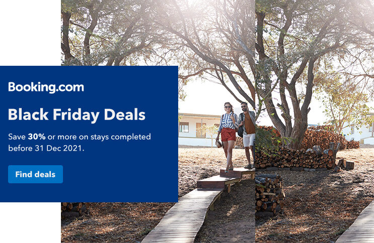 Booking.com Black Friday deals