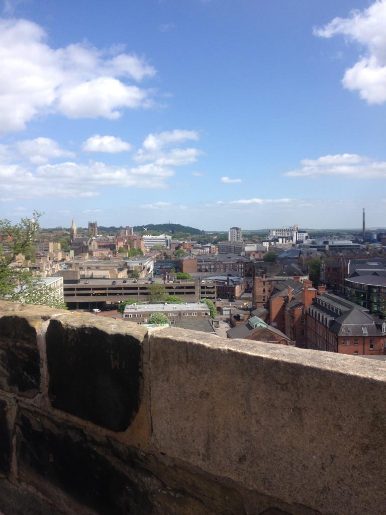 Nottingham Castle View