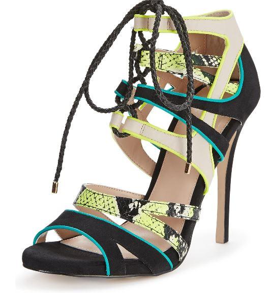 Carvela caged sandals