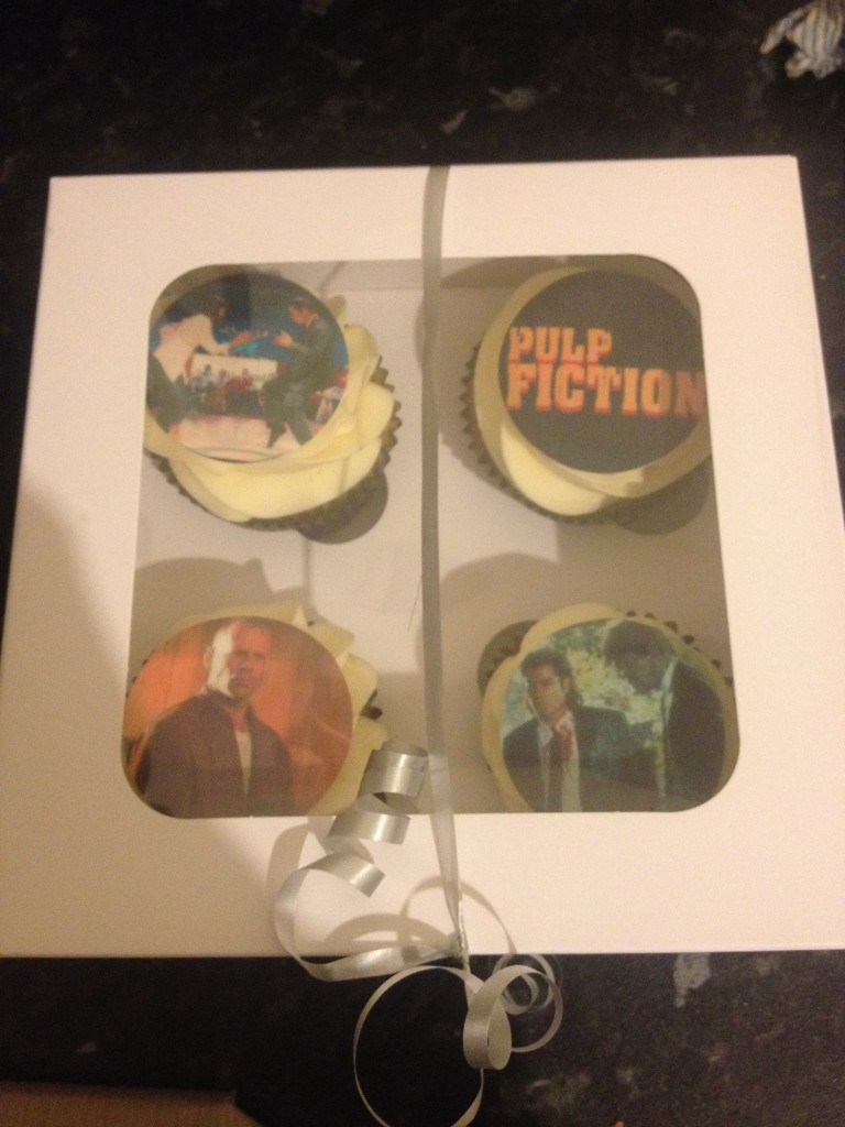 Pulp Fiction Cupcakes