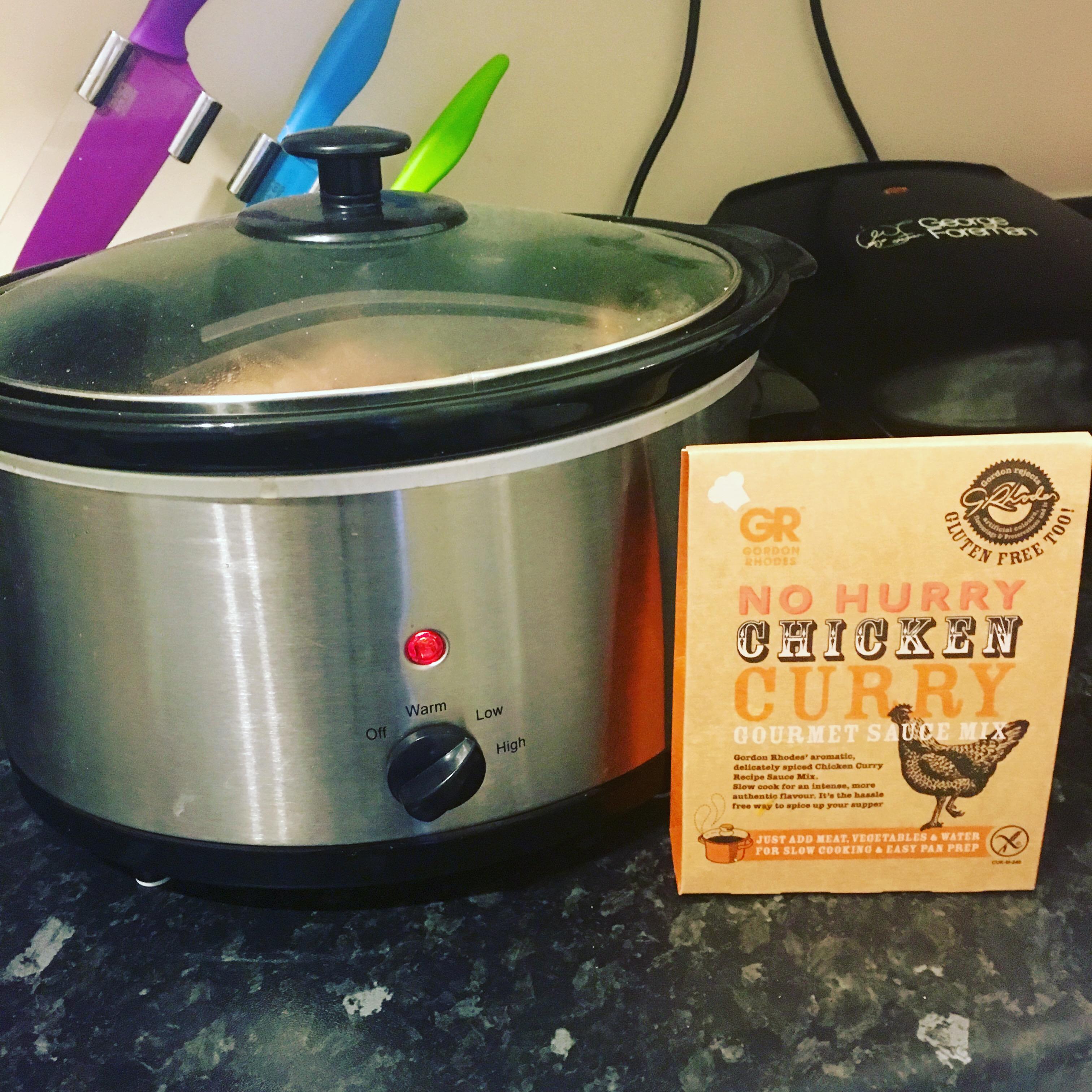Gordon Rhodes Chicken Curry