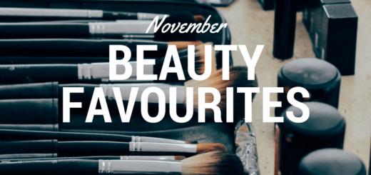 November beauty favourites