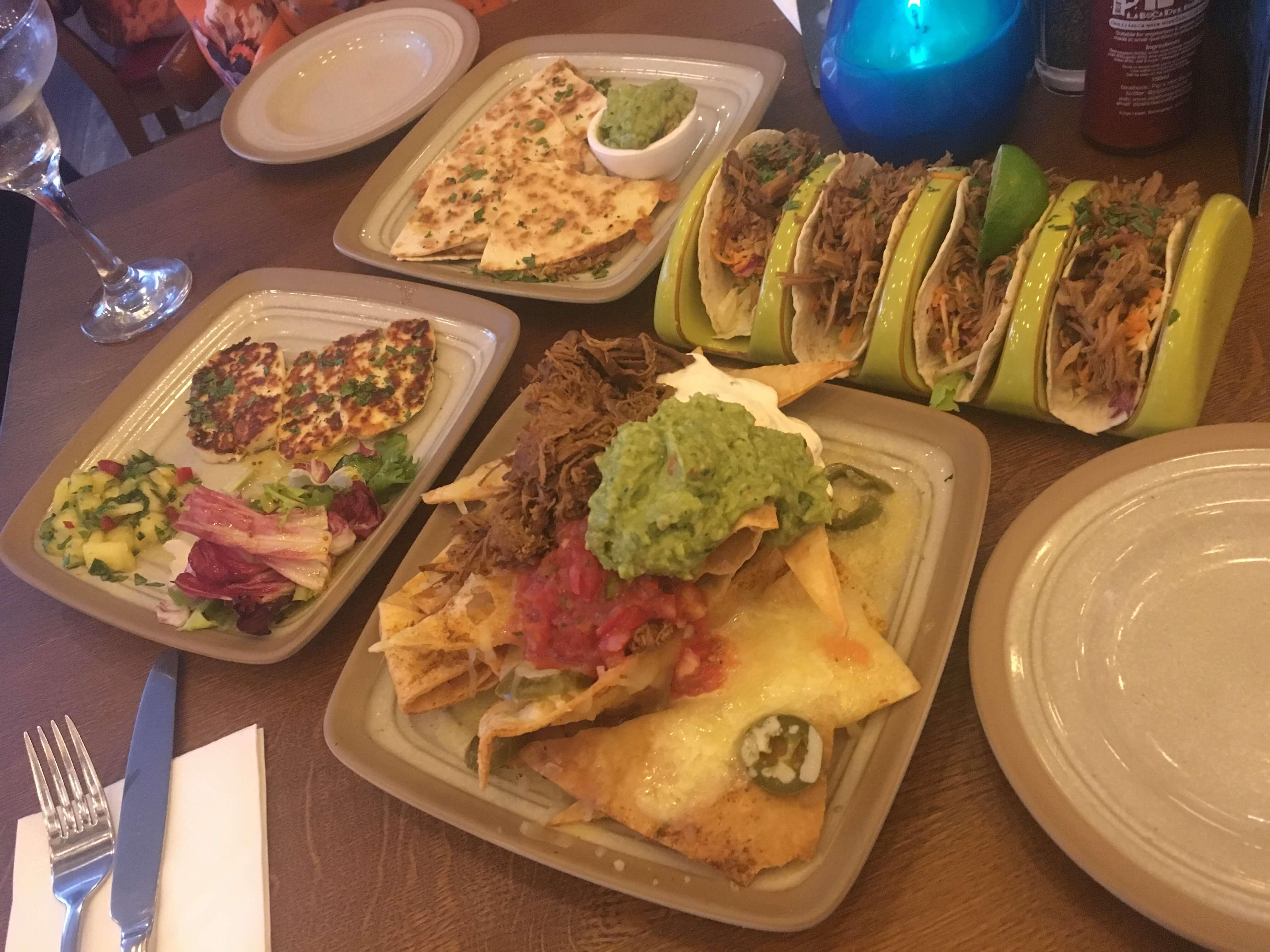 Dinner at Bodega