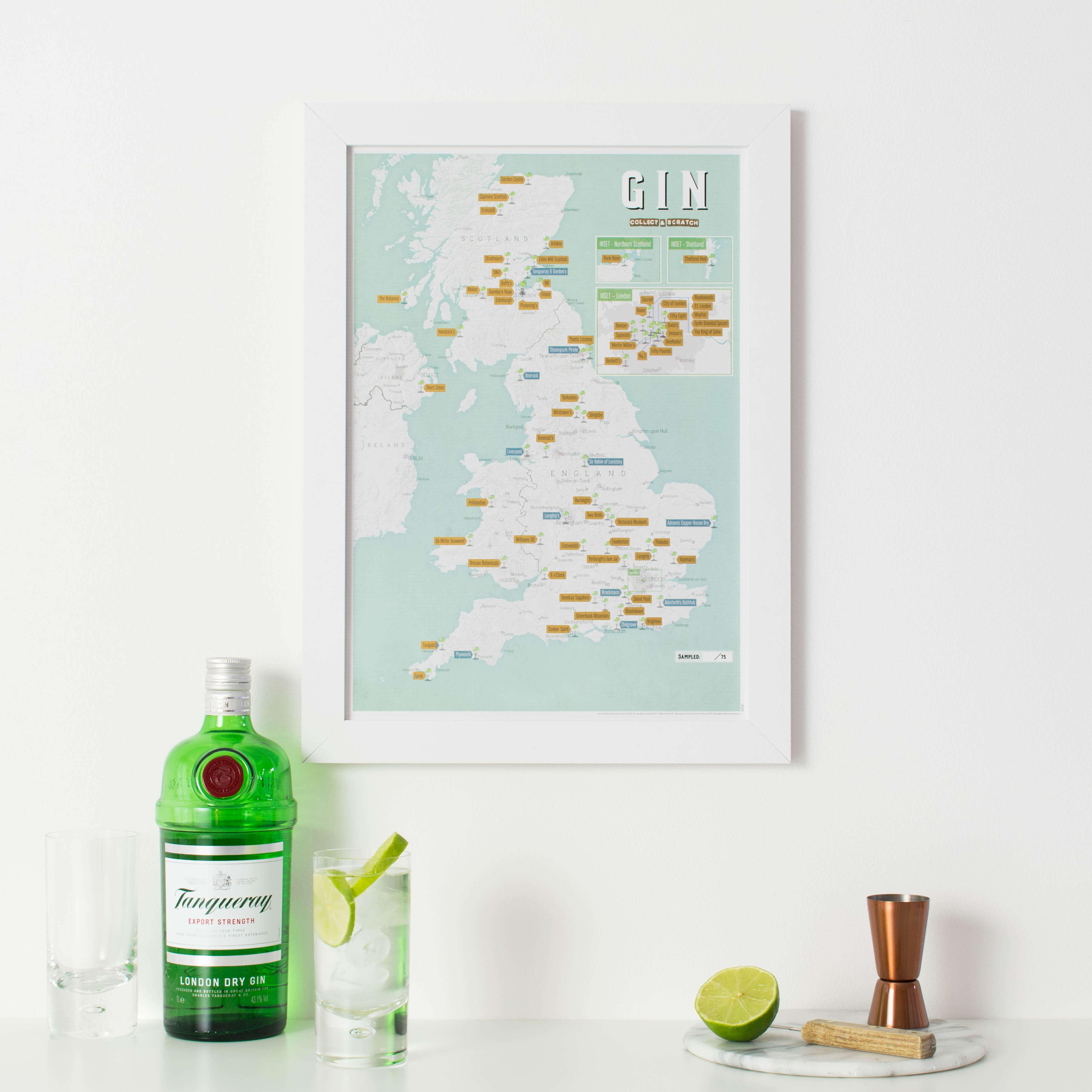 UK Gin Distilleries