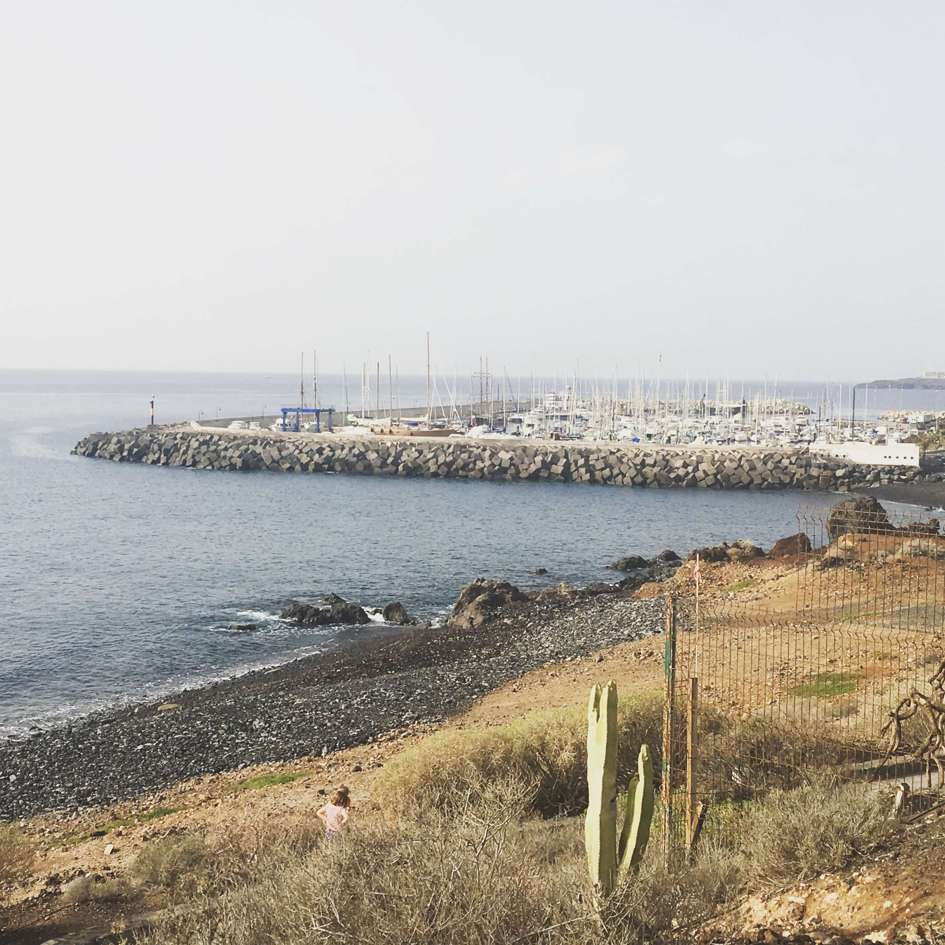 Harbour in Tenerife