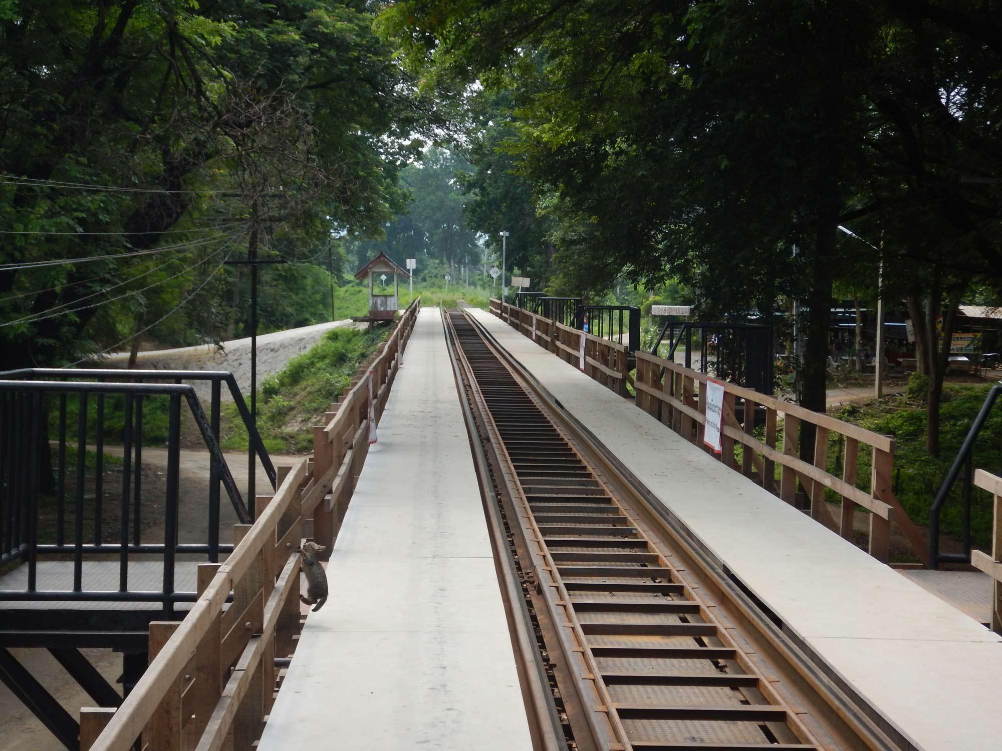 Travelling Thailand - bridge
