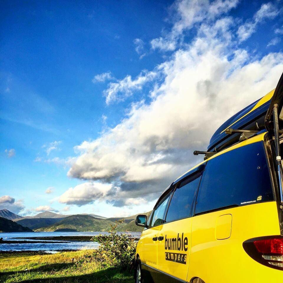 Bumble campervan