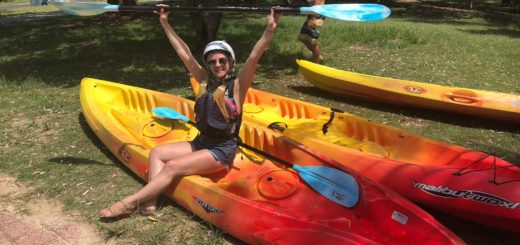 Kayaking in Byron Bay