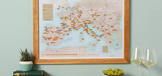 European Wines map