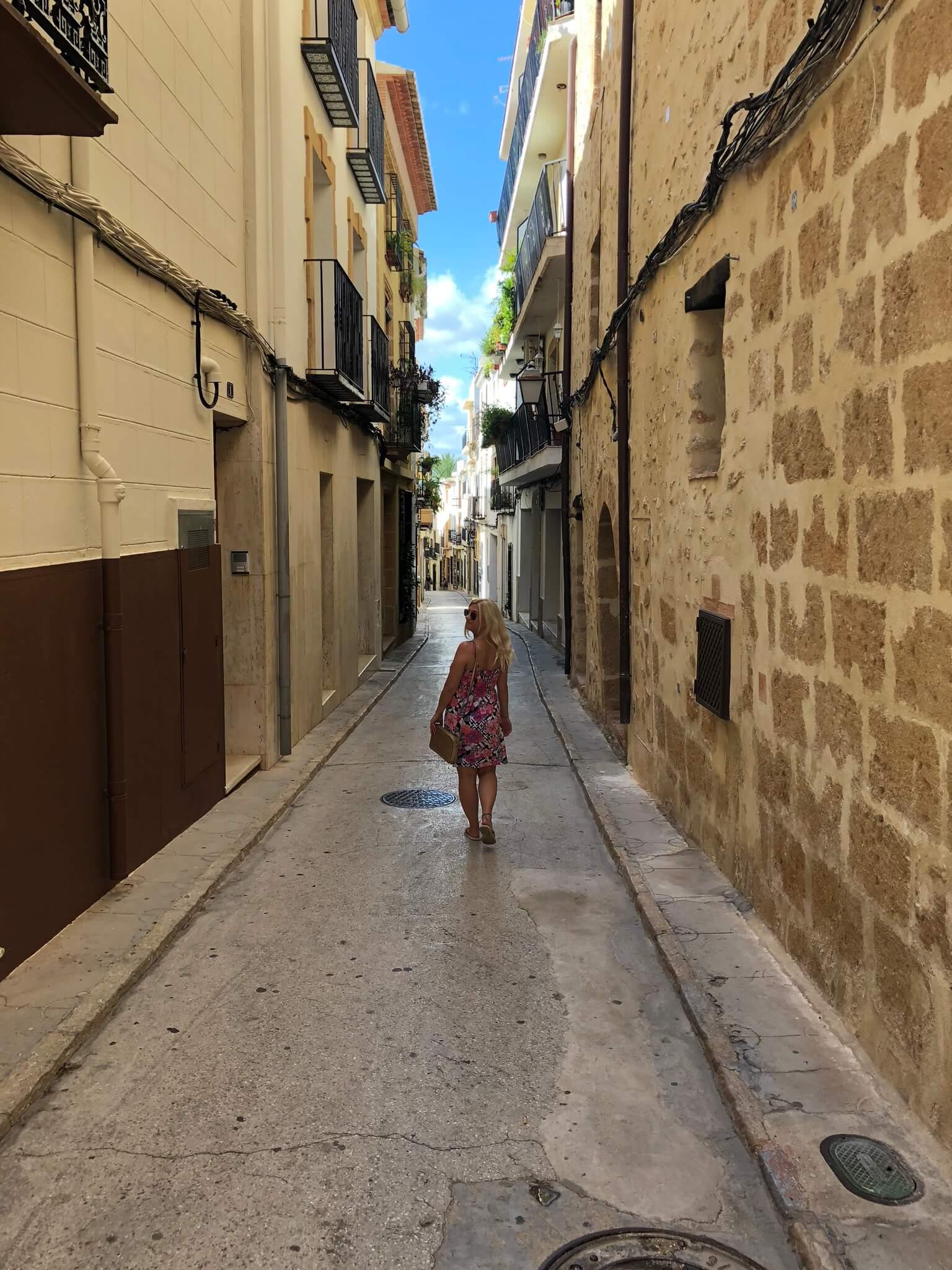 Javea streets