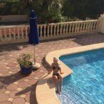 Sunbathing in Javea