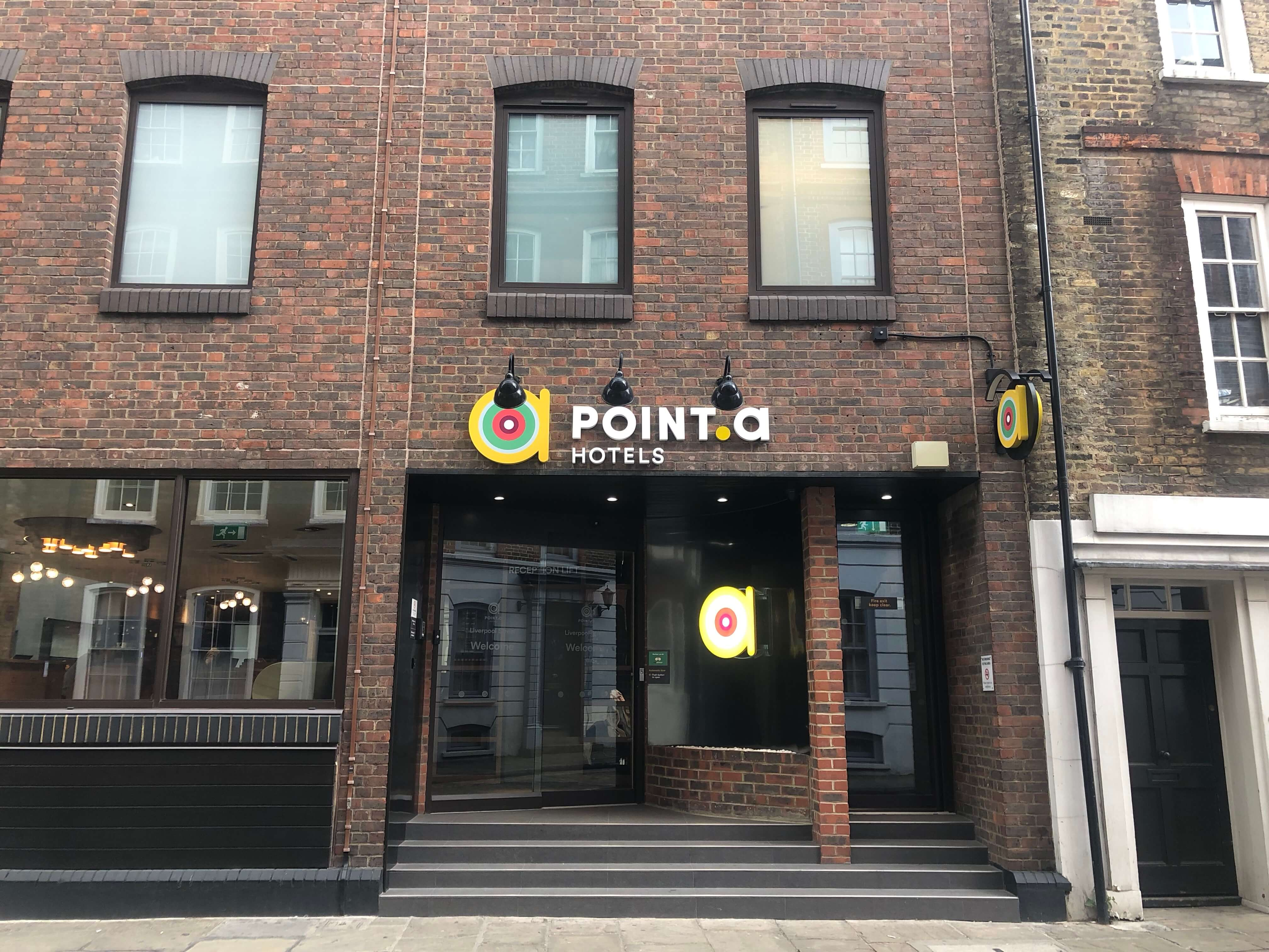 Point A Hotel Liverpool Street