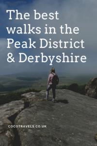Best walks in the Peak District & Derbyshire pin