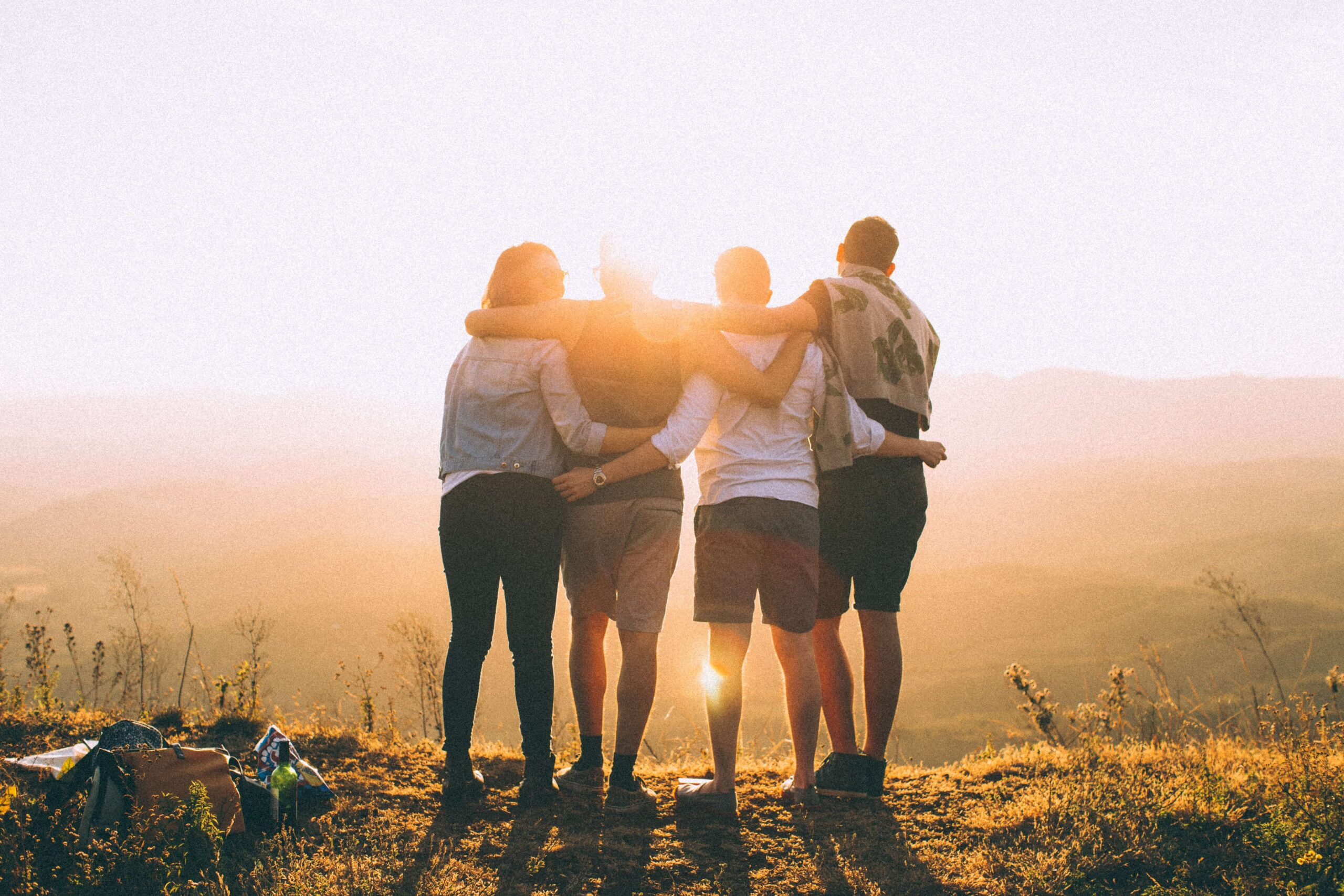 Making friends while travelling solo