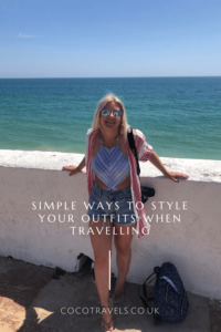 Ways to style your outfit when travelling