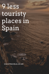 Less touristy places in Spain