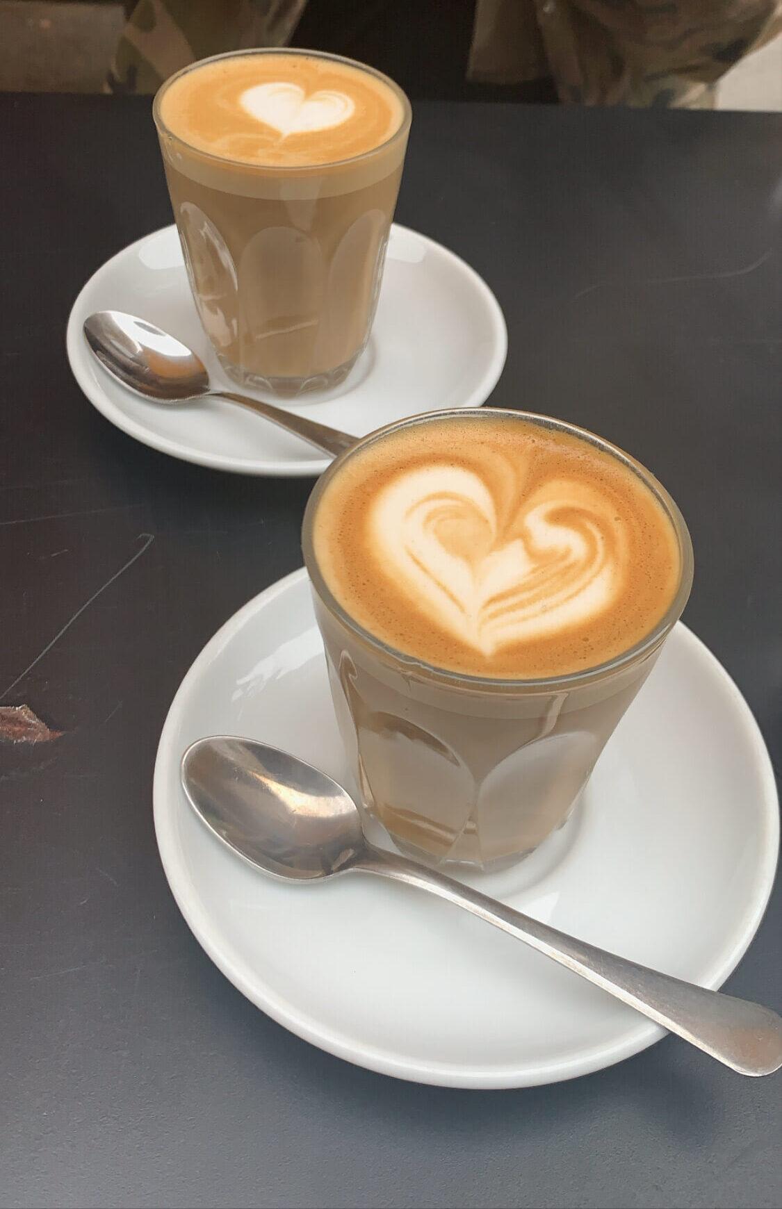 Coffee at Lantana