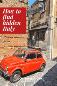 Hidden Italy pin
