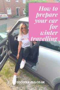 How to get your car ready for winter travelling pin