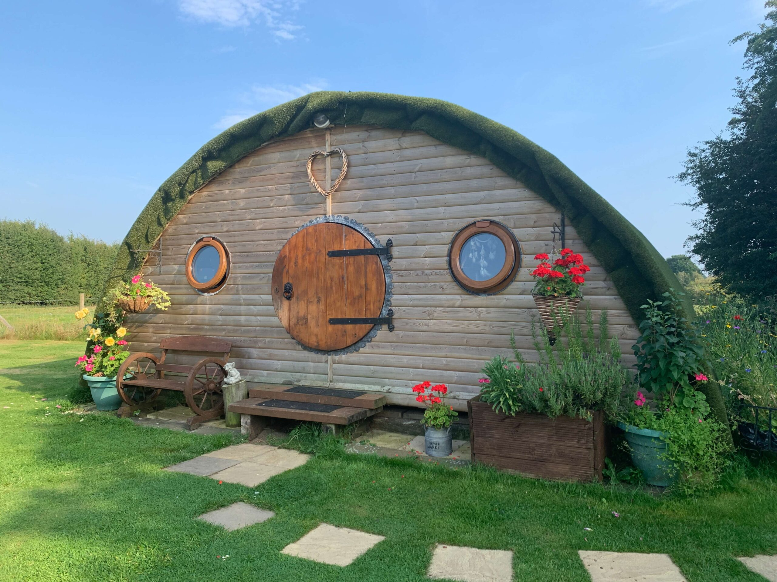 Glamping in Cheshire