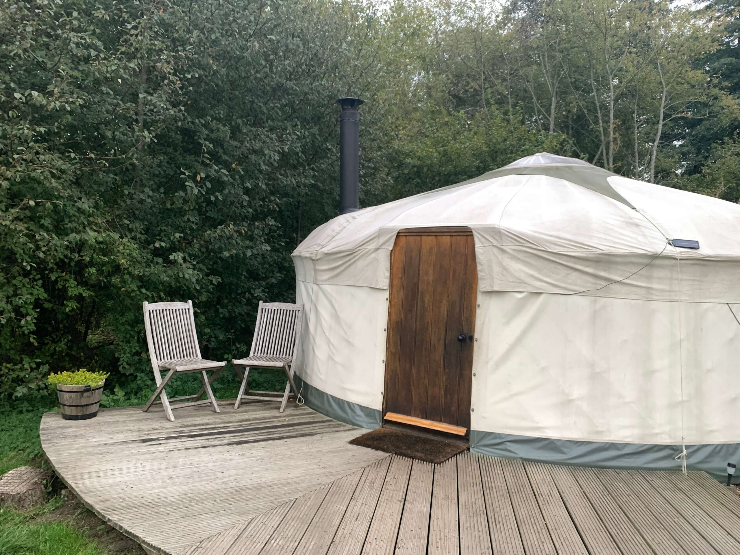 Hazelnut Yurt