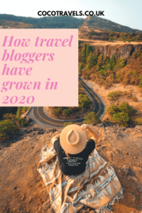 How travel bloggers have grown in 2020
