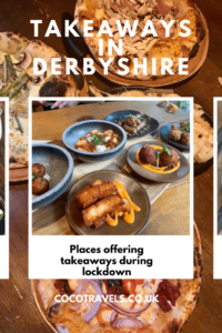Takeaways in Derbyshire pin
