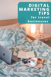 Digital marketing travel tips pin