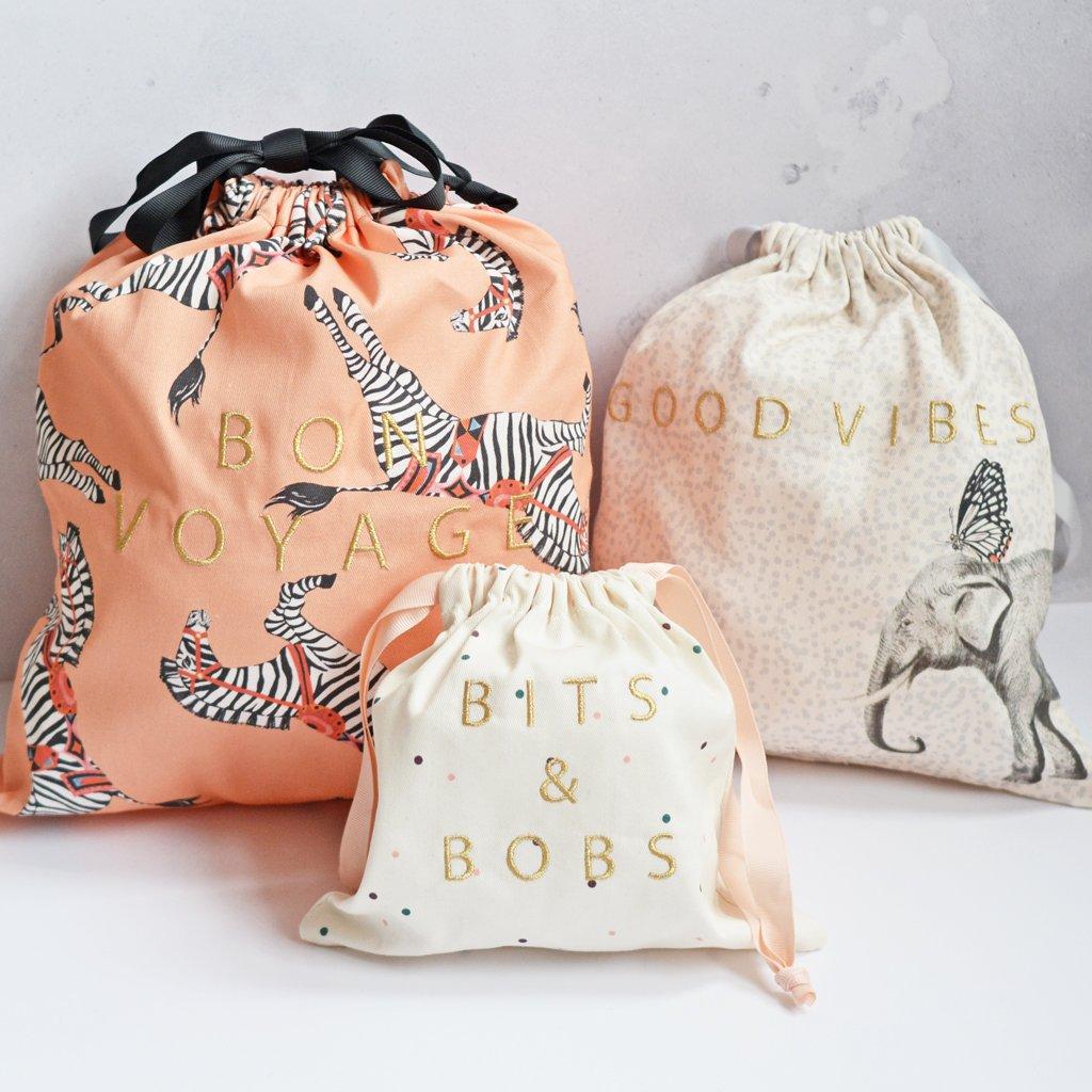 Yvonne Ellen laundry bags