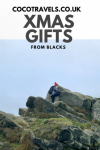 Christmas gifts from Blacks pin