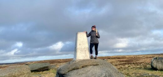 Kinder Low trig point